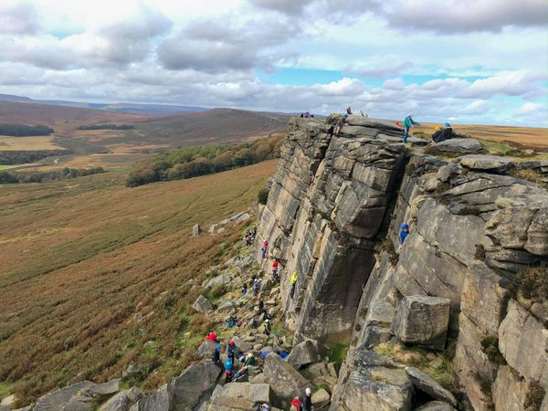 Stanage trip report 2019
